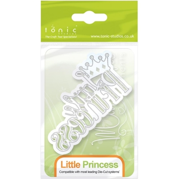 Tonic LITTLE PRINCESS Miniature Moments Sentiment Die 1262E
