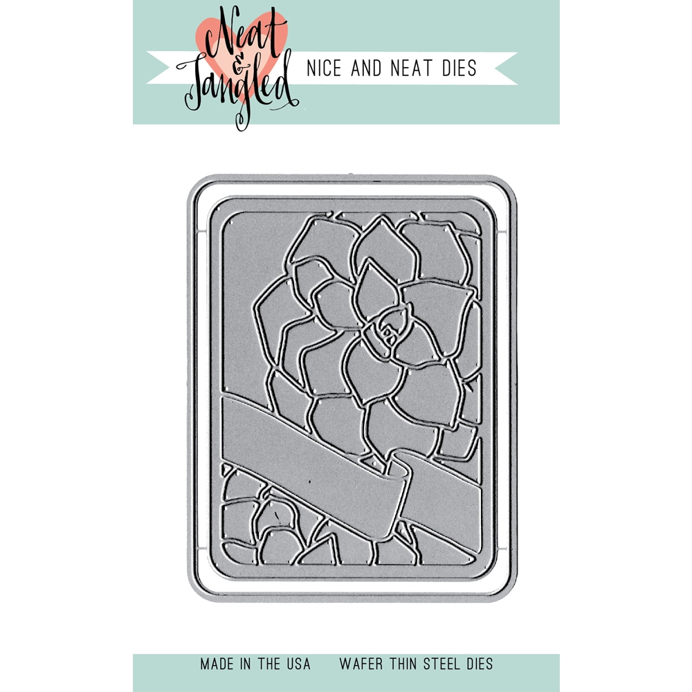 Neat and Tangled SUCCULENT JOURNALING CARD DIE NAT181 zoom image