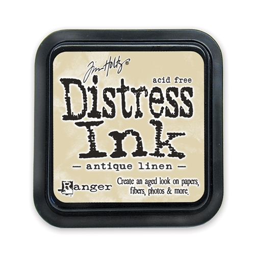 Tim Holtz Distress Ink Pad ANTIQUE LINEN Ranger TIM19497 Preview Image