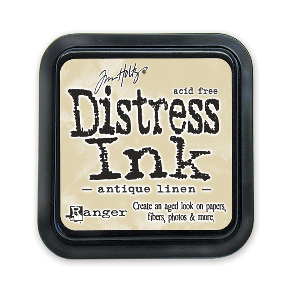 Tim Holtz Distress Ink Pad ANTIQUE LINEN Ranger TIM19497 zoom image