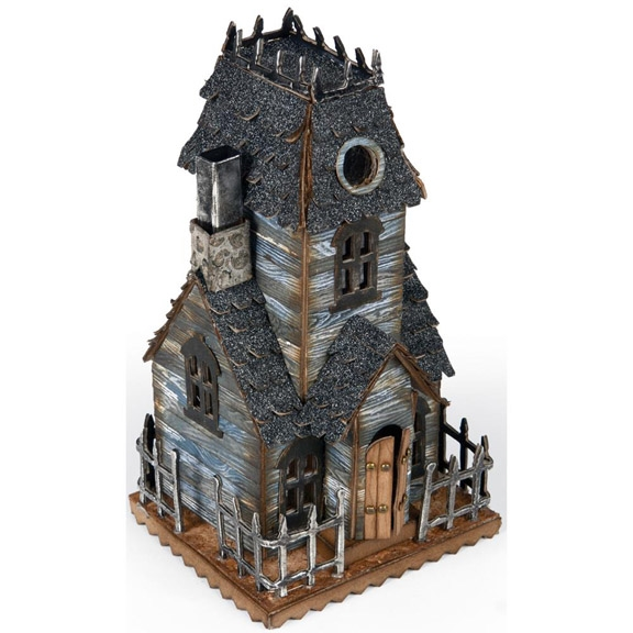 Tim Holtz Sizzix Die VILLAGE MANOR Bigz 661591 zoom image