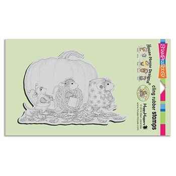 Stampendous Cling Stamp MICE COSTUMES Rubber UM HMCR79 House Mouse