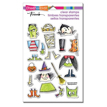 Stampendous Clear Stamps COSTUME STACK SSC1245