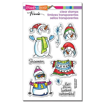 Stampendous Clear Stamps WINTER STACK SSC1249
