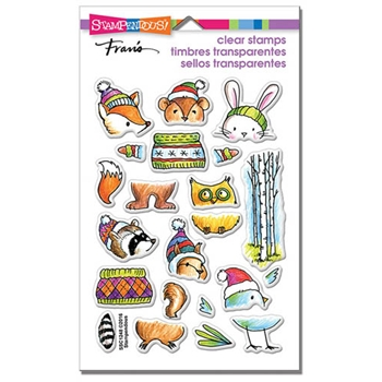 Stampendous Clear Stamps WOODSY STACK SSC1248
