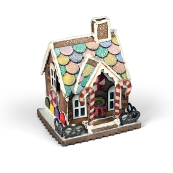 Tim Holtz Sizzix VILLAGE GINGERBREAD Bigz Die 661608