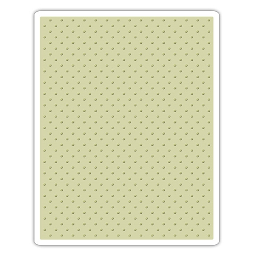 Tim Holtz Sizzix TINY DOTS Texture Fades Embossing Folder 661612 Preview Image