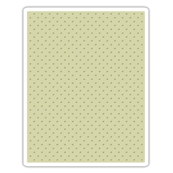 Tim Holtz Sizzix TINY DOTS Texture Fades Embossing Folder 661612