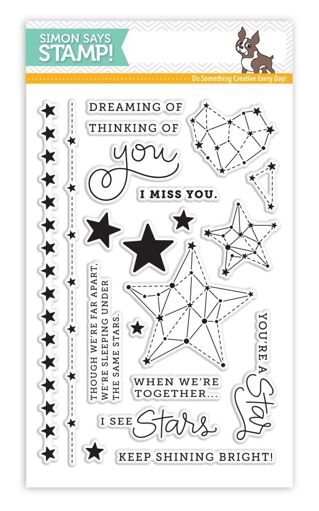 Simon Says Clear Stamps SEEING STARS sss101640 zoom image