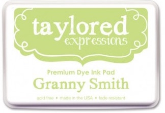 Taylored Expressions Premium Ink - GRANNY SMITH FULL INK PAD TEIDF10