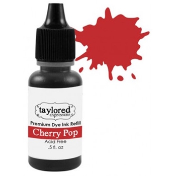 Taylored Expressions Premium Ink - CHERRY POP REFILL TEIDR04