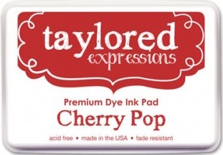 Taylored Expressions Premium Ink - CHERRY POP FULL INK PAD TEIDF04