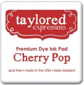 Taylored Expressions Premium Ink - CHERRY POP INK PAD TEIDF04