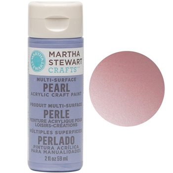 Martha Stewart ANTIQUE SILK 2oz Multi-Surface Pearl Acrylic Paint 32116
