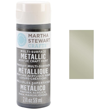 Martha Stewart LIGHT GOLD 2oz Multi-Surface Metallic Acrylic Paint 32996