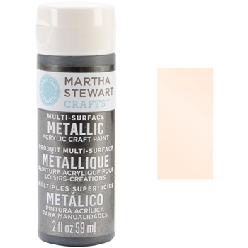 Martha Stewart CITRINE GOLD 2oz Multi-Surface Metallic Acrylic Paint 32998