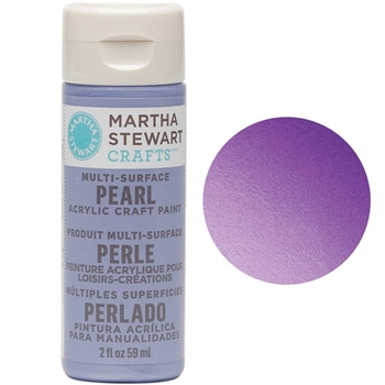 Martha Stewart PURPLE MARTIN 2oz Multi-Surface Pearl Acrylic Paint 32119
