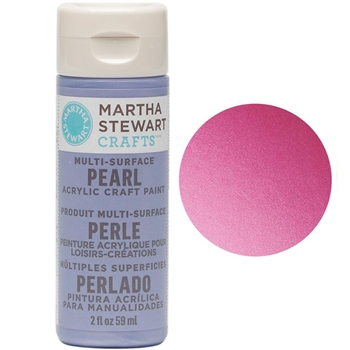 Martha Stewart FRUIT PUNCH 2oz Multi-Surface Pearl Acrylic Paint 32115