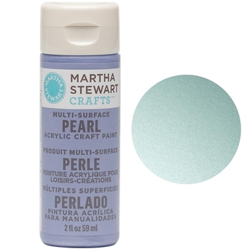 Martha Stewart JET STREAM 2oz Multi-Surface Pearl Acrylic Paint 32121