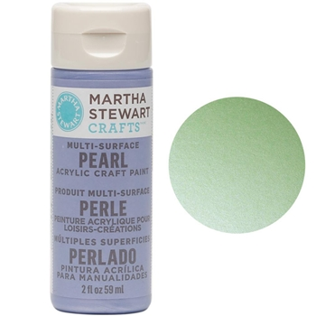 Martha Stewart MINT CHIP 2oz Multi-Surface Pearl Acrylic Paint 32124