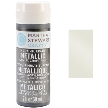 Martha Stewart CHAMPAGNE 2oz Multi-Surface Metallic Acrylic Paint 32994