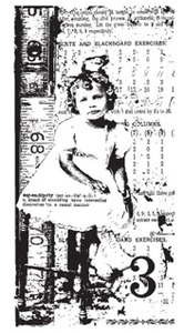 Tim Holtz Rubber Stamp GIRLS RULE Stampers Anonymous u3-1091
