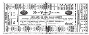 Tim Holtz Rubber Stamp NEW YORK CENTRAL Stampers Anonymous U5-1092 Preview Image