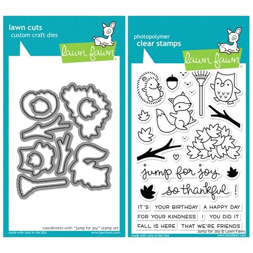 Lawn Fawn SET SULF16SETJFJ JUMP FOR JOY Clear Stamps and Dies Preview Image