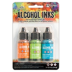 Tim Holtz Alcohol Ink Set SPRING BREAK Adirondack Ranger TAK52555
