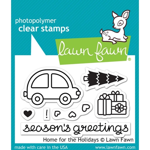 Lawn Fawn HOME FOR THE HOLIDAYS Clear Stamps LF1220 Preview Image
