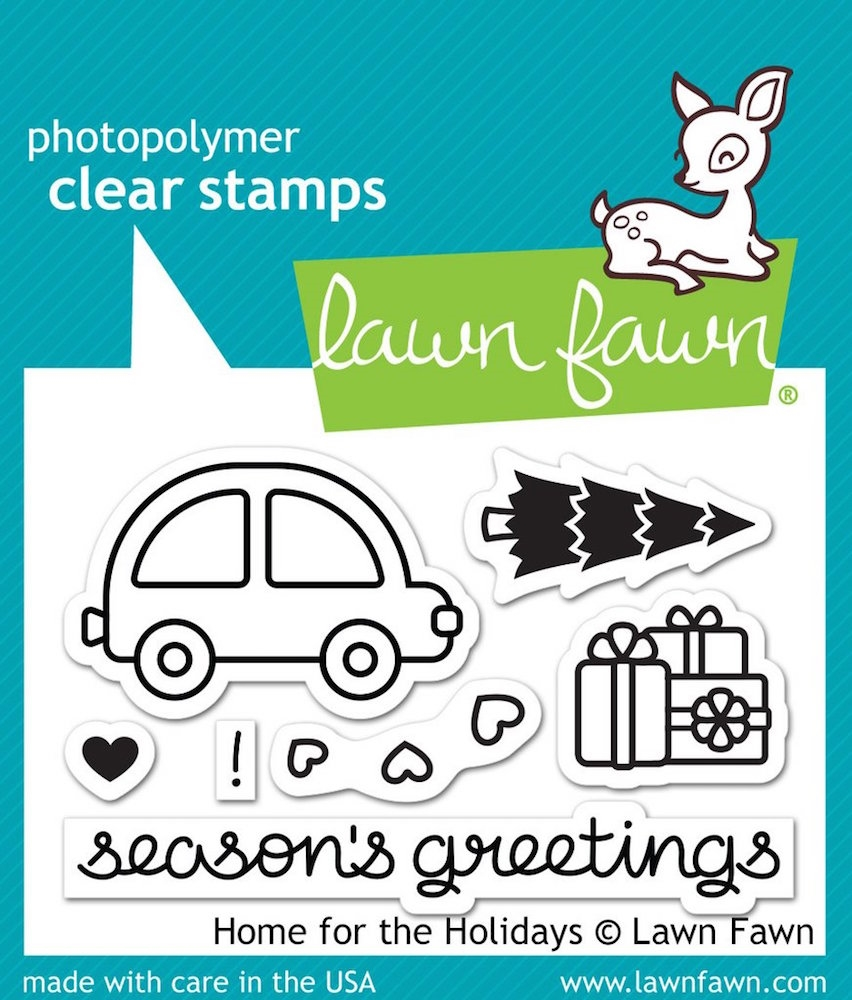 Lawn Fawn HOME FOR THE HOLIDAYS Clear Stamps LF1220 zoom image