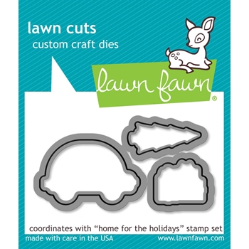Lawn Fawn HOME FOR THE HOLIDAYS Lawn Cuts Dies LF1221