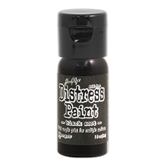 Tim Holtz Flip Top Distress Paint BLACK SOOT Ranger TDF52937 zoom image
