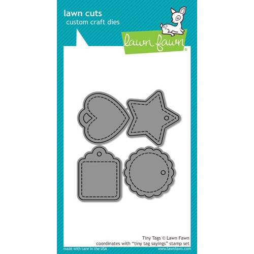 Lawn Fawn TINY TAG SAYINGS Lawn Cuts Dies LF1223 Preview Image