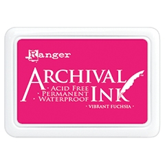 Ranger Archival Ink Pad VIBRANT FUCHSIA AIP52524 Preview Image