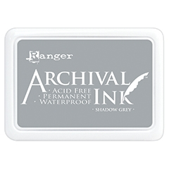 Ranger Archival Ink Pad SHADOW GREY AIP52517