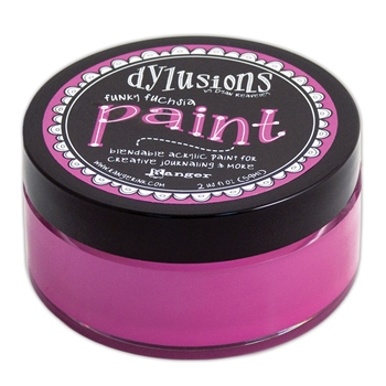 Ranger Dylusions Paint FUNKY FUCHSIA DYP50988