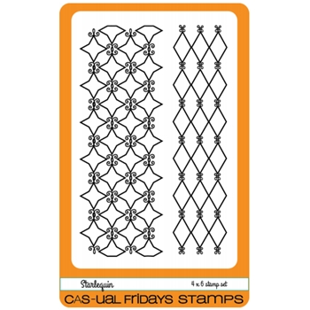 CAS-ual Fridays STARLEQUIN Clear Stamps CFS1614