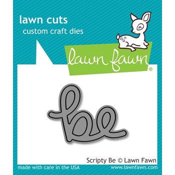 Lawn Fawn SCRIPTY BE Lawn Cuts Die LF1266