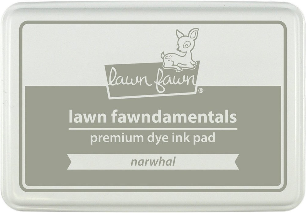 Lawn Fawn NARWHAL Premium Dye Ink Pad Fawndamentals LF1274 zoom image