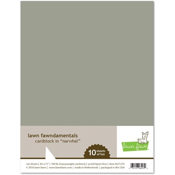 Lawn Fawn NARWHAL Cardstock LF1272