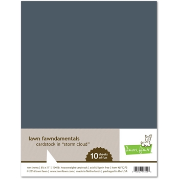 RESERVE Lawn Fawn STORM CLOUD Cardstock LF1273