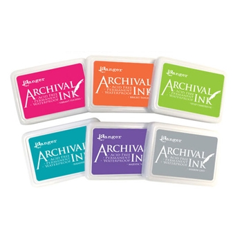RESERVE Ranger Archival INK PAD SET OF 6 Ranger91