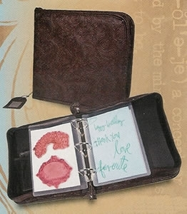 Tim Holtz Idea-ology UNMOUNTED STAMP BINDER Cling Storage  TH92725 Preview Image