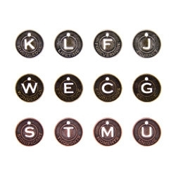 Tim Holtz Idea-ology MUSE TOKENS Coin Metal TH92676 Preview Image
