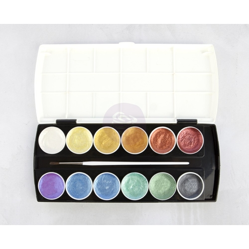 Prima Marketing METALLIC ACCENTS Semi Watercolor Cake 589974 Preview Image
