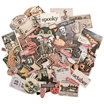 RESERVE Tim Holtz Idea-ology CURIOSITIES Ephemera TH93306