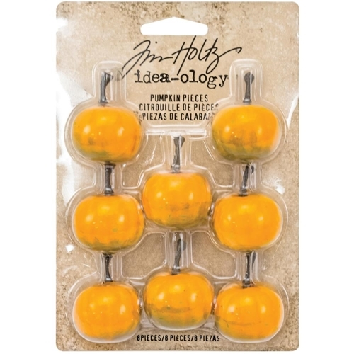 Tim Holtz Idea-ology PUMPKIN PIECES Findings TH93312 zoom image