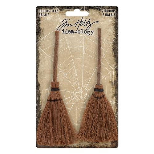 Tim Holtz Idea-ology BROOMSTICKS TH93598 Preview Image