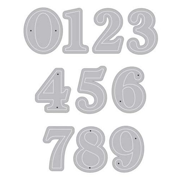 Hero Arts Frame Cuts Dies CLASSIC NUMBERS DI301